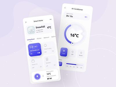 Smart Home UI smarthouse app panel home smart