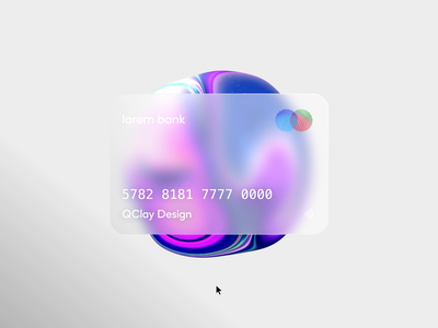 Card Animation motion motion graphics application best design art animation creditcard web page web qclay card cards credit visa wallet mastercard payment finance