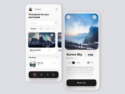 Travel App app developer mobile designer appdesigner trip app userinterface ux designer top agency top team inspiration best agency uidesigner travel app ui design uiux mobile design app design