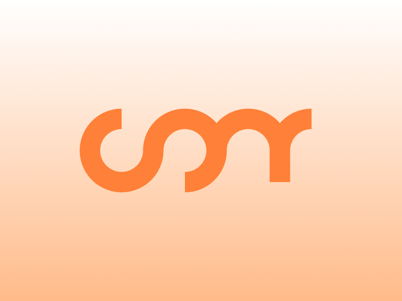 */CONF branding type logo wordmark logotype logo identity icon agancy branding orange