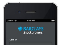 Mobile stocks and shares dealing app