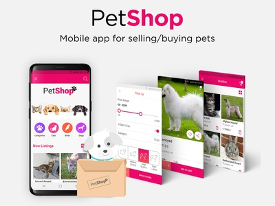 Pets Marketplace App