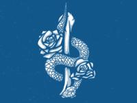 Snake, Bone, & Roses