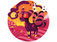 Accidentally a Goth Fox