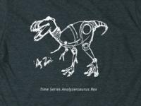 Time Seriesanalystersuarus Rex t-shirt