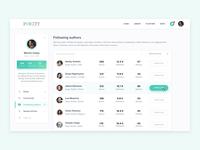 Parity - User Profile