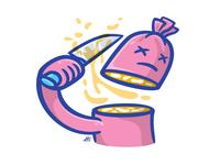 Sausage suicide