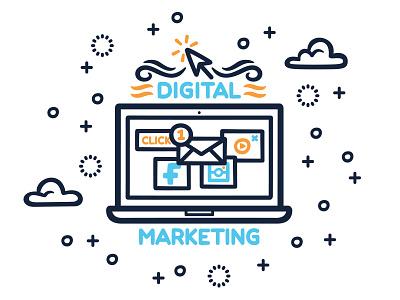 Shift Forward Mural Detail 1 social media youtube instagram facebook digital marketing technology startup office wall typography digital art vector