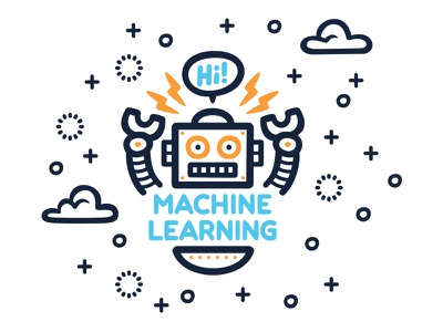 Shift Forward Mural Detail 2 uprising robot machine learning digital marketing technology startup office wall typography digital art vector