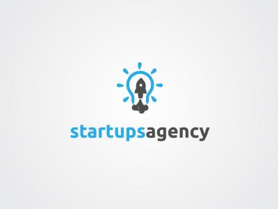 Startups Agency identity corporate branding designer illustrator graphic creative minimal modern mark design logo