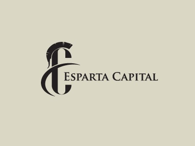 Esparta Capital identity corporate branding designer illustrator graphic creative minimal modern mark design logo