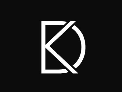 DK identity corporate branding designer illustrator graphic creative minimal modern mark design logo
