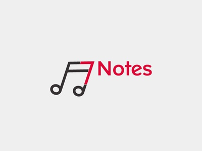 7notes logo design