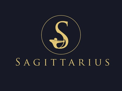 Sagittarius icon identity adobe corporate drawing branding brand designer illustrator minimal graphic logo modern mark creative design