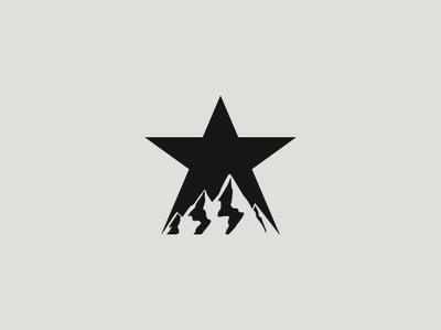Star Logo typography app illustration ux vector icon drawing identity corporate branding brand designer illustrator graphic minimal mark modern creative logo design