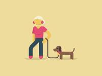 Dog Lady 2