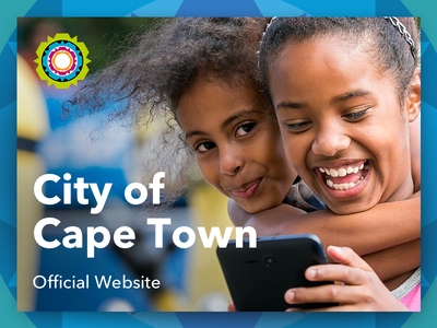 City of Cape Town Official Website ux ui website