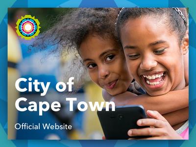 City of Cape Town Official Website ux ui website