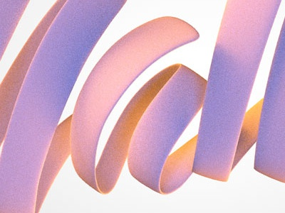 Sneak peek 1 typography bubblegum 3d caligraphy lettering script