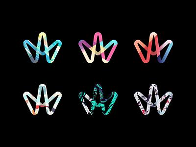 Pattern Variants logo identity branding