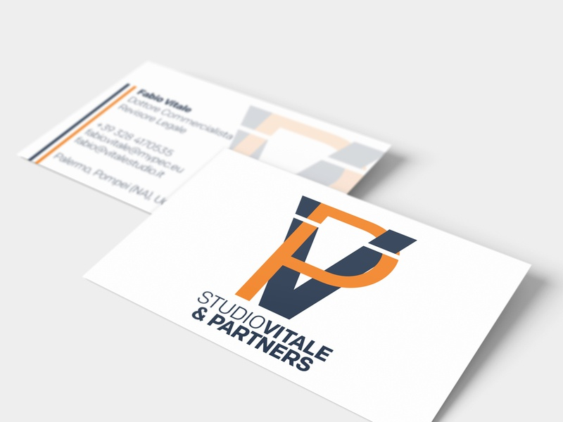 Business consultant logo and Visiting Card branddsign design logo graphic dribbble