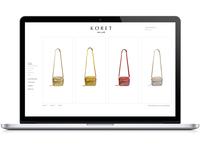 Koret Homepage Macbook