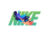 Nike ink