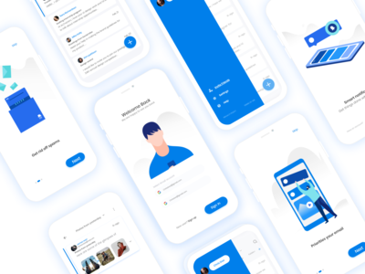 Chaterr.io App UI