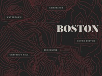 Boston Topography