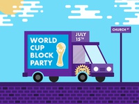 Orlando City World Cup Block Party
