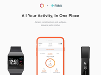 Fitbit Launch Email Header