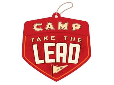 Camp Take the Lead Red