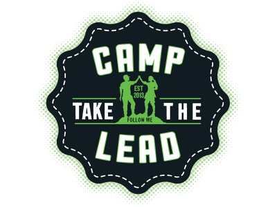 Camp Take the Lead camp summer summit celebration badge