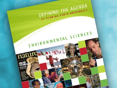 Environmental Science Program cover brochure cover science