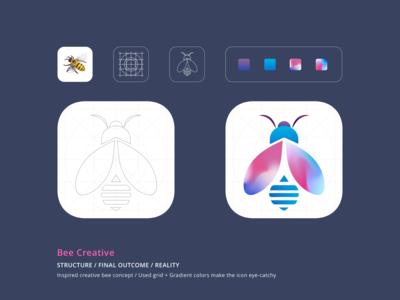App icon - Creative Bee