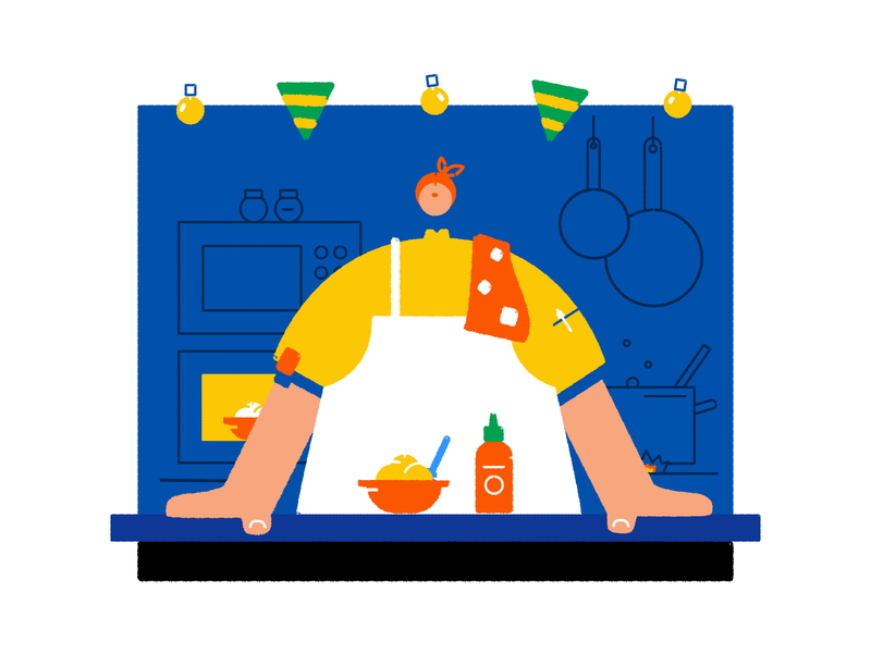 Food truck affinity designer affinitydesigner affinity chef truck foodie food character vector illustration
