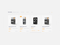 Daily UI #015 - Select Product