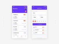 Routines Smart Home App