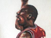 """The Greatest"" Michael Jordan Illustration"