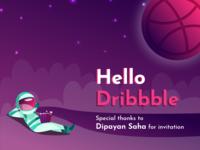 Dribbble-debut shot