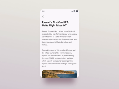 Mandatory Reads - Confirmation interaction animation confirmation article ui yellow blue minimal mobile