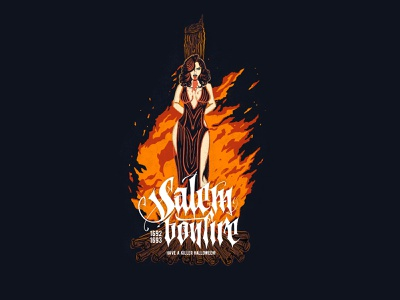 Have a killer Halloween! drawing type clothing t-shirt calligraphy print design typography illustration lettering