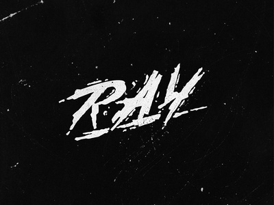One of the versions of the logo «Ray»