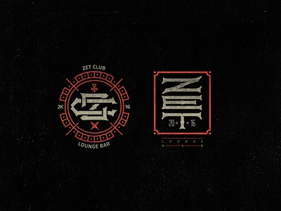 """Logotype for my friends from """"ZET lounge bar""""."""