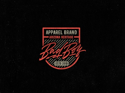 Logo for apparel brand from arizona