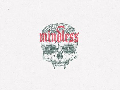 """Mindless"" for inktober 2019"