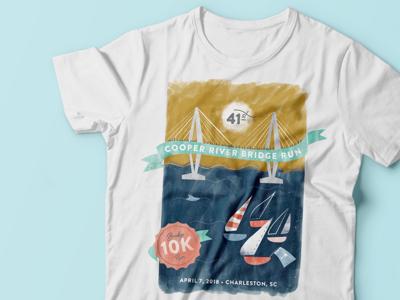 Bridge Run T-shirt Design