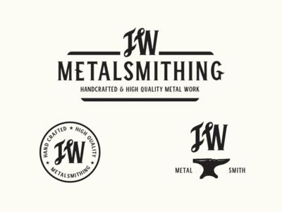 JW Metalsmith Logo Options