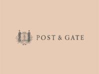 Post & Gate Logo