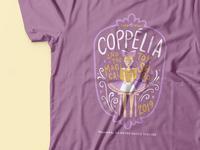 Coppelia Ballet T-shirt Design